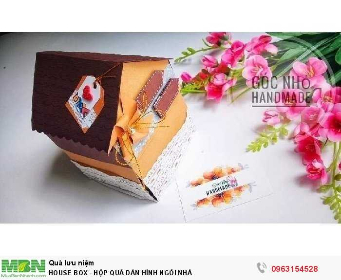 House box - hộp quà dán hình ngôi nhà0