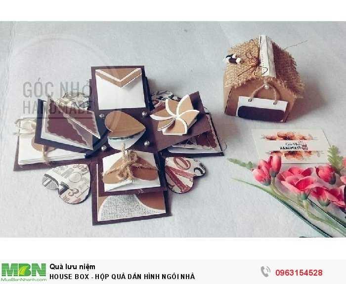 House box - hộp quà dán hình ngôi nhà1