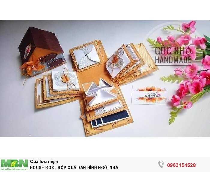 House box - hộp quà dán hình ngôi nhà2
