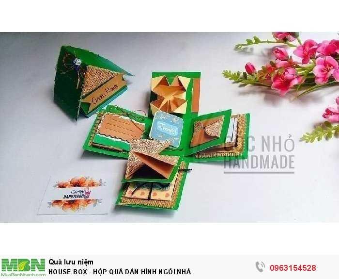 House box - hộp quà dán hình ngôi nhà3