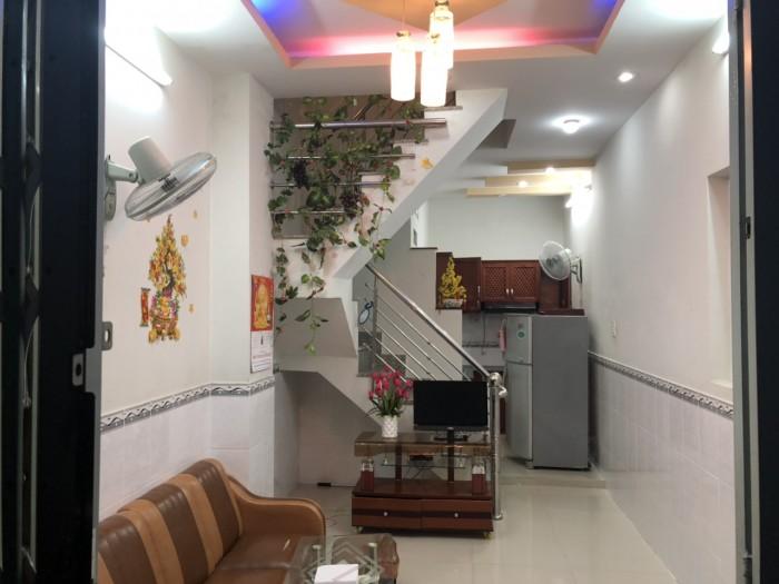 Bán nhà giá rẻ đường Dương Cát Lợi, Nhà Bè, Tp.HCM. DT 72m2, 2 lầu