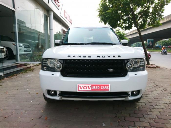 Range Rover HSE model 2011 màu trắng thùng To