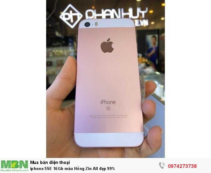 Iphone 5SE 16Gb màu Hồng Zin All đẹp 99%0