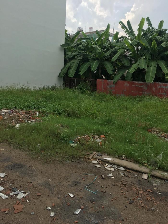 Sang gấp lô đất trống 4.4 x 12m hẻm 216 Đường số 15, Bình Tân, SHR.