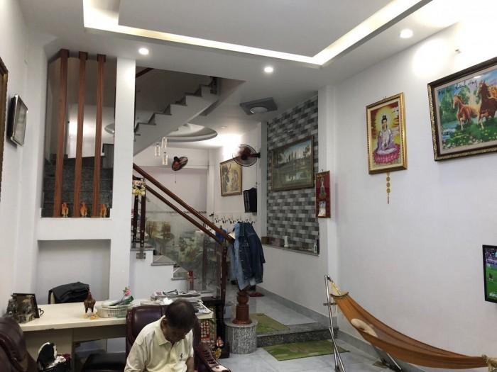 Bán nhà hẻm 2057 đường Huỳnh Tấn Phát, Nhà Bè, Tp.HCM DT 72m2, 2 lầu sân thượng, tặng nội thất