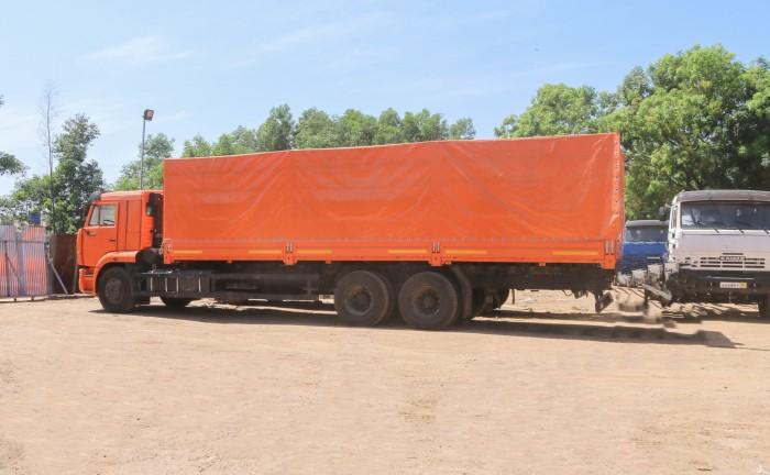 Xe tải thùng Kamaz 65117 (6X4) Long II, Thùng dài 9M080