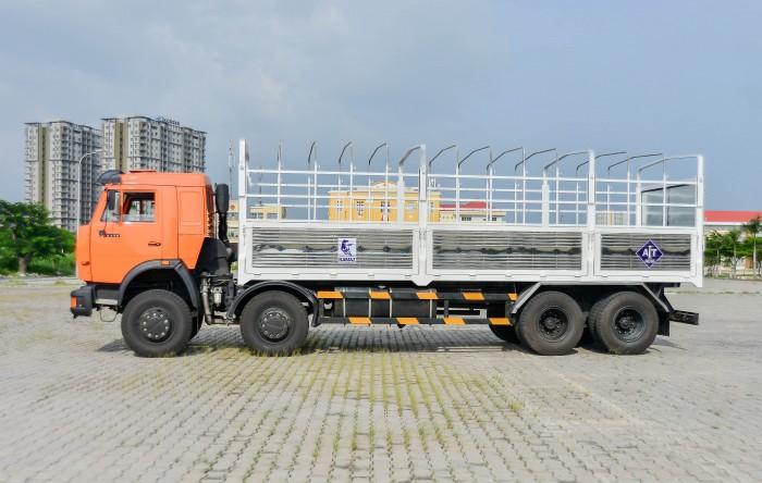 Xe tải thùng Kamaz  6540 Long I (8X4), Thùng dài 7M8