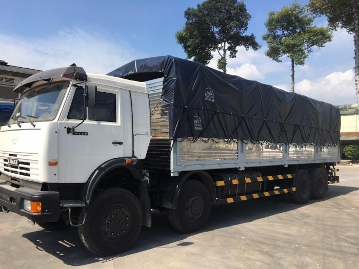 Xe tải thùng Kamaz 6540 Long II (8X4), Thùng dài 8M880