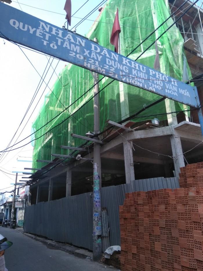 Chính chủ cho thuê nhà 2 Mặt tiền Vườn Lài, Q Tân Phú