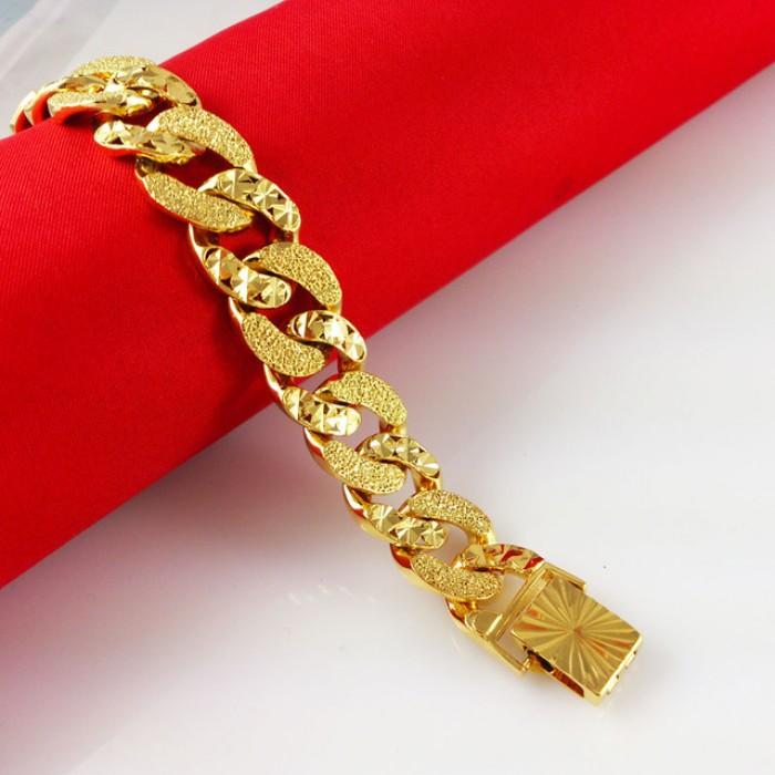 Lắc tay cao cấp mạ vàng0