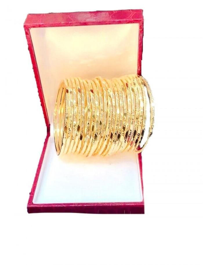 Vòng ximen mạ vàng có khóa gài0