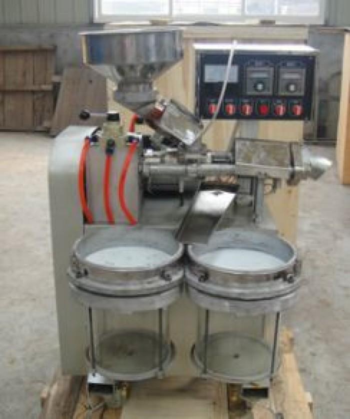 Máy ép dầu lạc công nghiệp chính hãng, lắp đặt tại nhà 6YL-301
