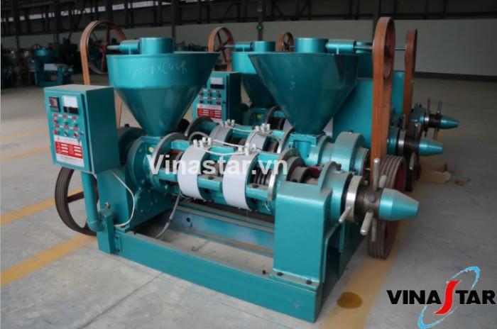 Máy ép dầu lạc công nghiệp chính hãng, lắp đặt tại nhà, bảo hành 12 tháng YZYX120WK (15KW)1