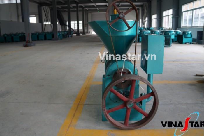 Máy ép dầu lạc công nghiệp chính hãng, lắp đặt tại nhà, bảo hành 12 tháng YZYX120WK (15KW)3