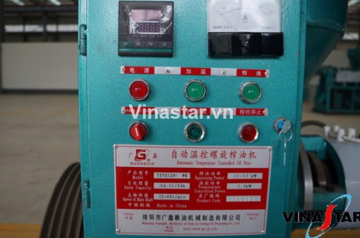Máy ép dầu lạc công nghiệp chính hãng, lắp đặt tại nhà, bảo hành 12 tháng YZYX120WK (15KW)0