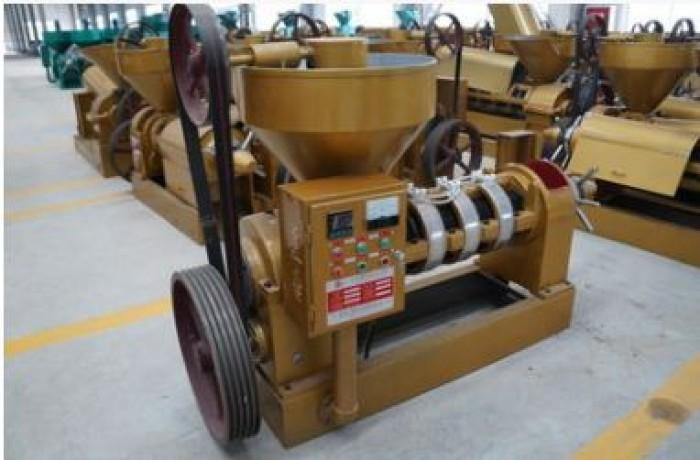 Máy ép dầu lạc công nghiệp chính hãng, lắp đặt tại nhà, bảo hành 12 tháng YZYX140WK (18,5KW-22KW)4