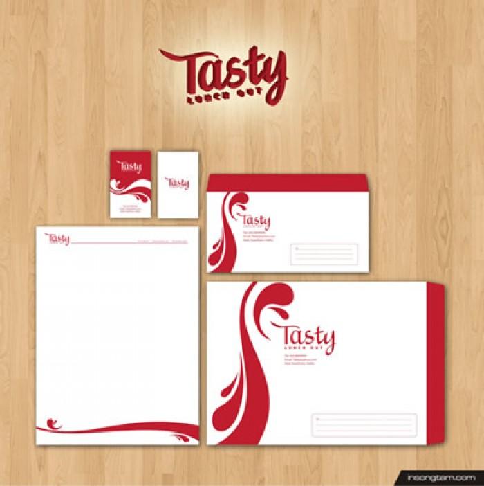 Chuyên in ấn bao thư, tờ rơi, menu, folder, túi sách, lịch, card visit