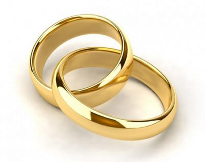 Nhẫn cưới mạ vàng cao cấp0