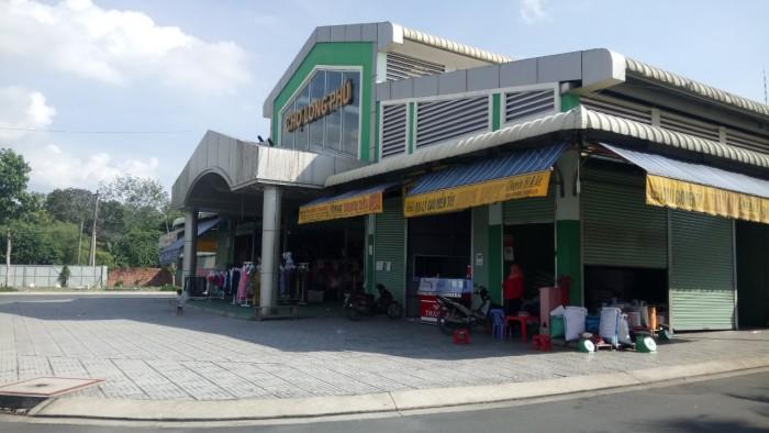 Kiot chợ Long Phú