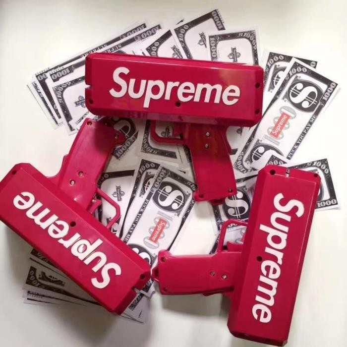 Súng Bắn Tiền Supreme Cash Cannon Money Gun5