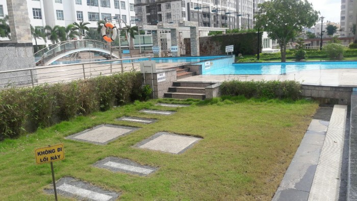 Cho thuê gấp căn hộ Giai Việt đường Tạ Quang Bửu Q.8, dt 115m2, 2pn, có nội thất