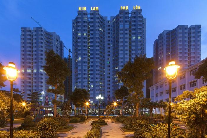 Cần bán gấp căn hộ Him Lam Chợ Lớn,Quận 6  Dt 97 m2, 2 phòng ngủ,có it  nội thất