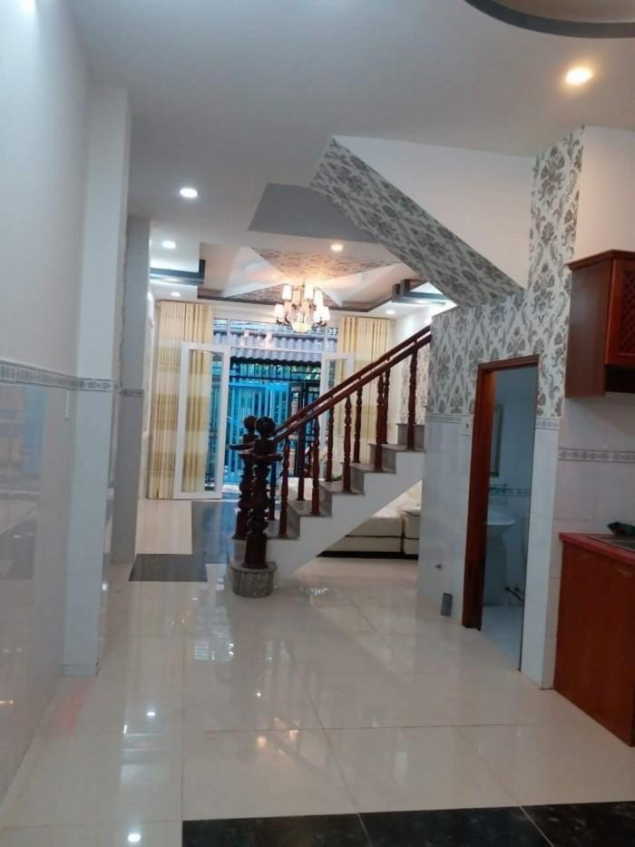 Bán nhà đường Dương Cát Lợi tặng nội thất DT 4m x 17m, 4 phòng ngủ, góc 2 mặt tiền