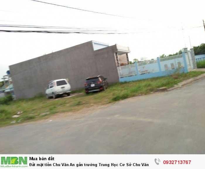 Đất mặt tiền Chu Văn An gần trường Trung Học Cơ Sở Chu Văn An 5x20 SHR