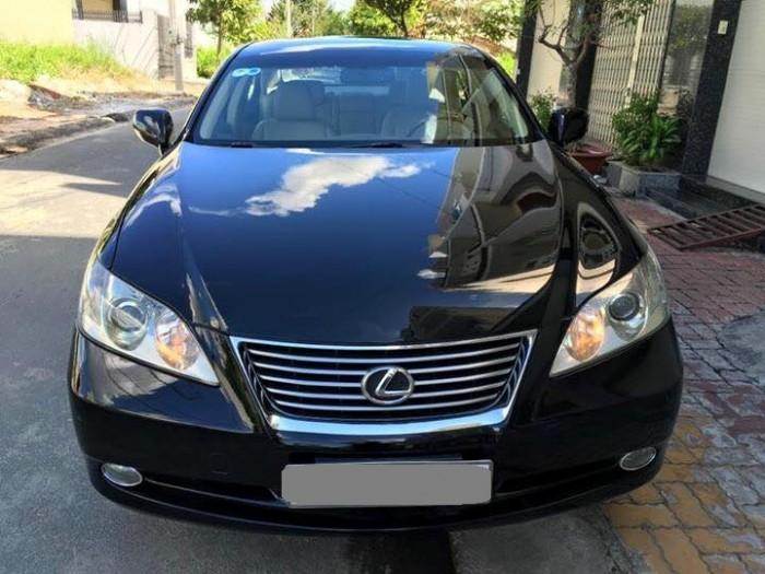 Bán em Lexus ES 350 2008 tự động đen cực sang trọng.