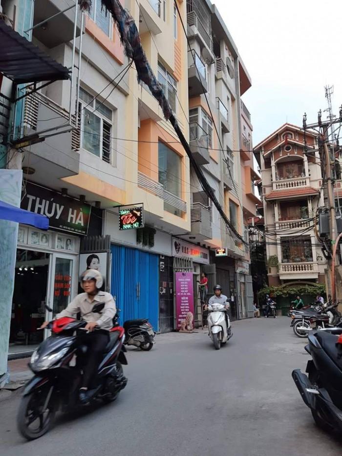 Bán gấp nhà KD khủng phố Nguyễn Chánh 52m2, 7tầng, Mt 5,5m