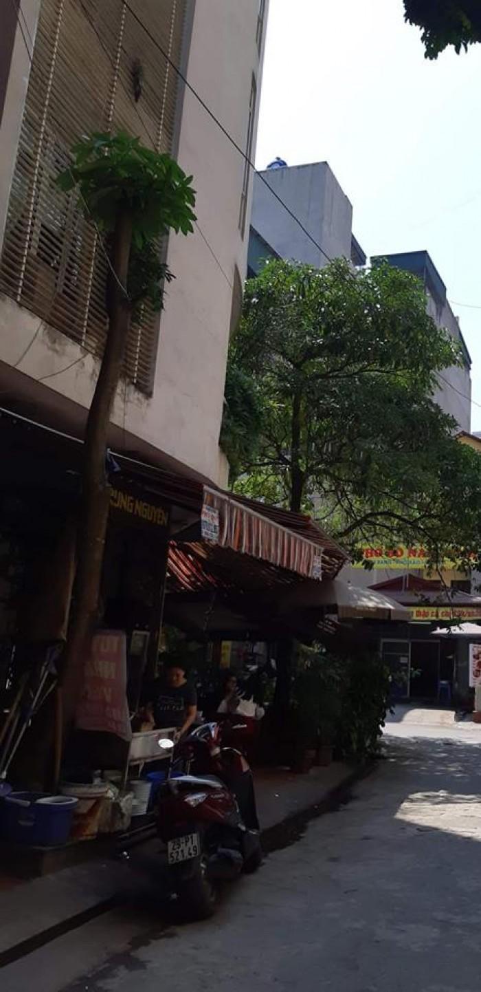 Bán gấp nhà lô góc KD đường 12m phố Ngọc Khánh 60m2, 6tầng, Mt 5m