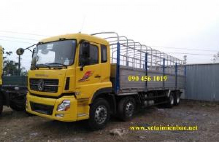 Tải thùng 4 chân YC310, tải 17 tấn 9, thùng dài 9m5 5