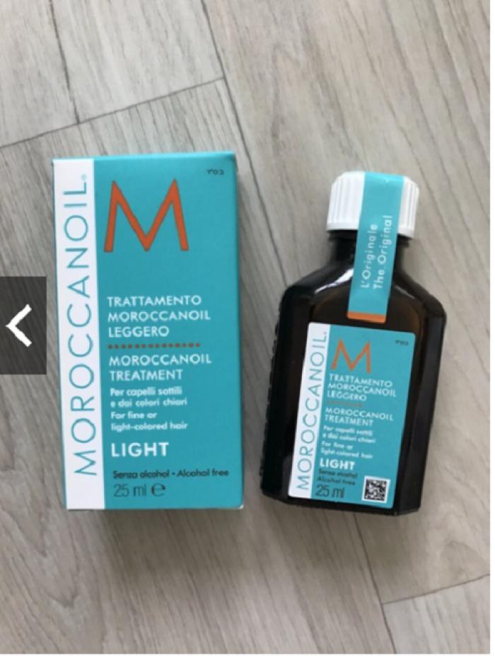 Tinh dầu dưỡng tóc Moroccanoil Treatment Light 25ml0