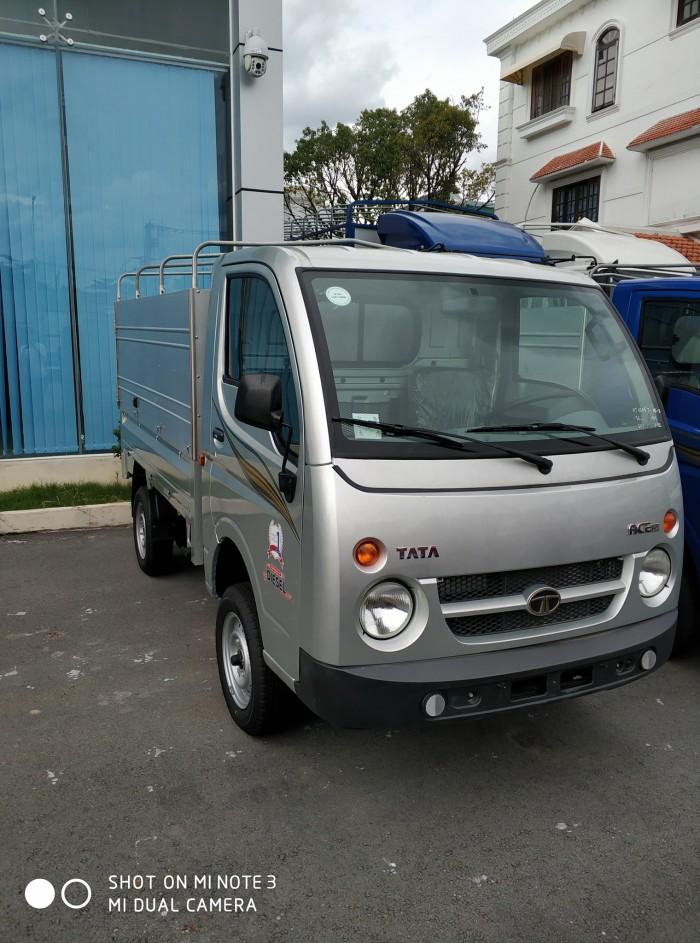 Cần bán xe tải Tata 500kg máy xăng thùng dài 2m1 1
