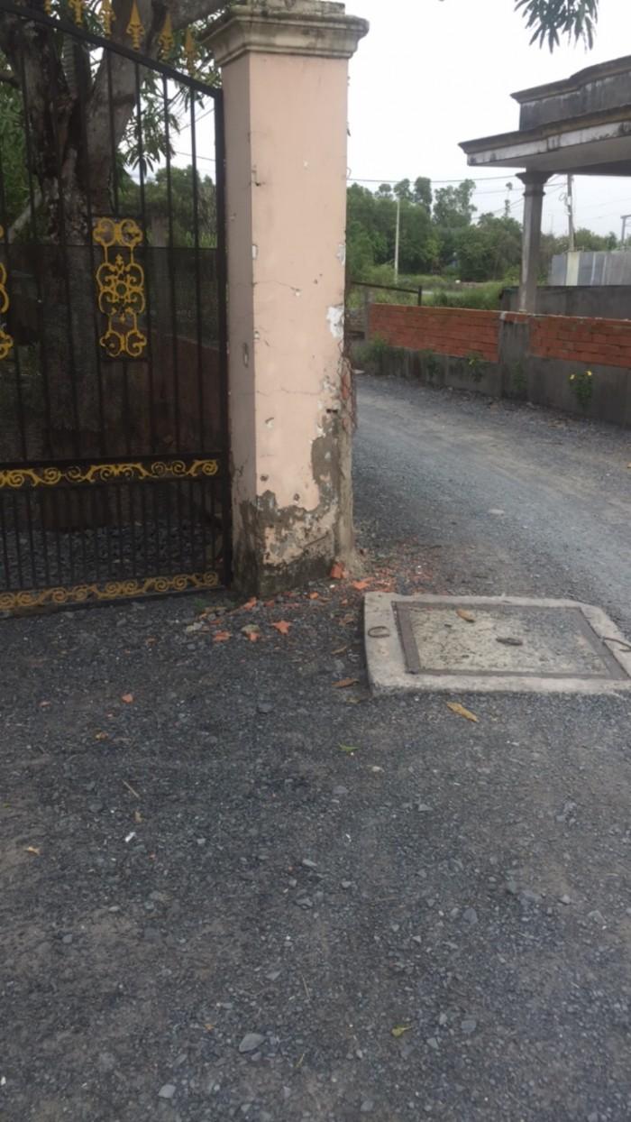 Đất thổ cư đường liên ấp 3-4-5 xã Hưng Long, Bình Chánh