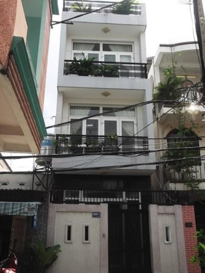 Bán gấp nhà mặt tiền Phạm Văn Hai, 4 tầng, mặt tiền 4,5m.