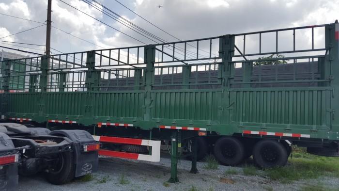 Đại lý Mooc lồng tải Doosung (Có mui), 3 trục 40 feet,giá gốc,xe có sẵn,giao ngay. 2