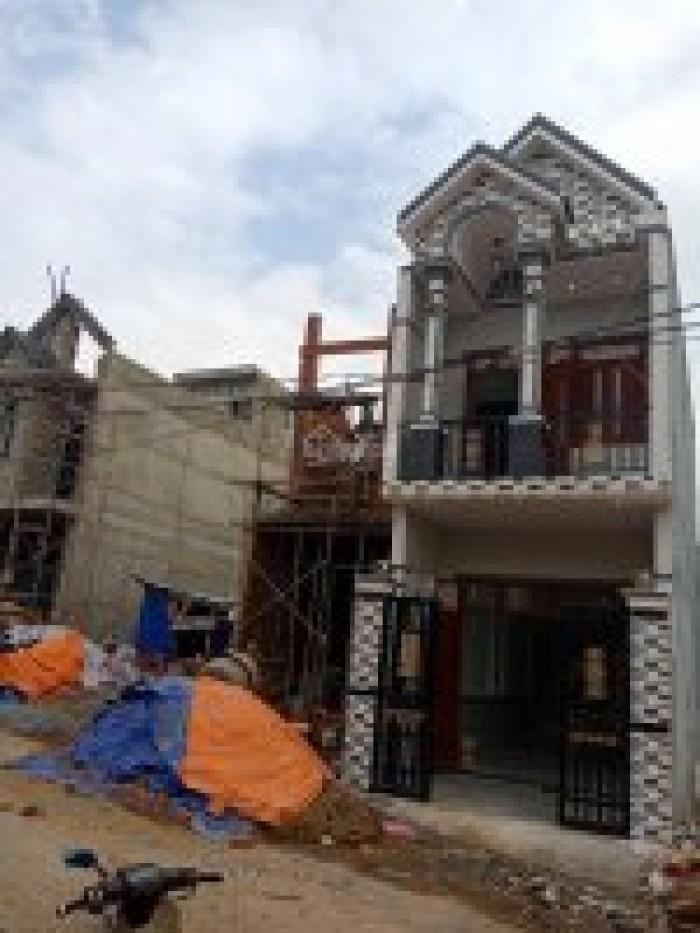 Cần bán nhà mới xây 1 trệt, 1 lầu 70m2 Tân Bình, Dĩ An