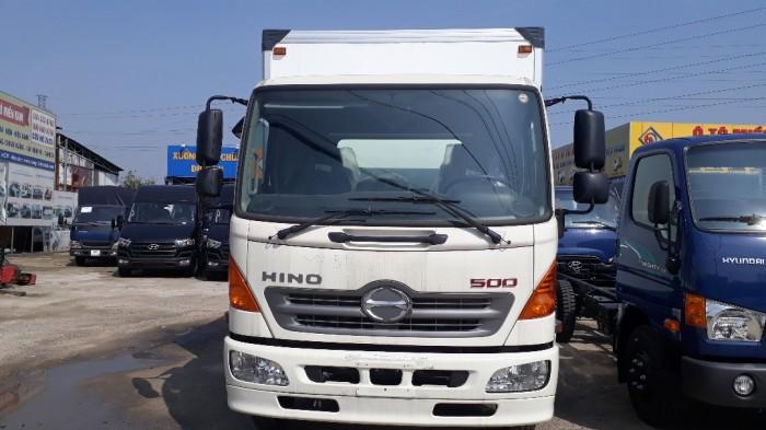Mua xe tải Hino 6.2 tấn thùng đông lạnh, trả trước 100 triệu giao luôn xe - Gọi 0972494937 (MsXuân 24/24)