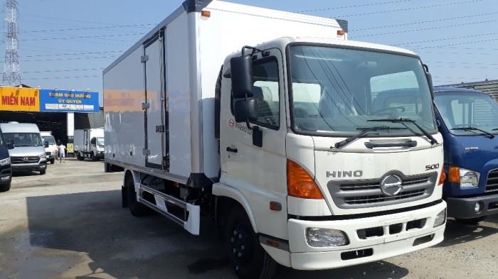 Bán xe tải Hino 6.2 tấn thùng đông lạnh, trả trước 100 triệu giao luôn xe - Gọi 0972494937 (MsXuân 24/24)