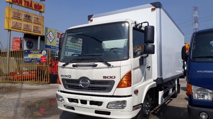 Giá xe tải Hino 6.2 tấn thùng đông lạnh, trả...