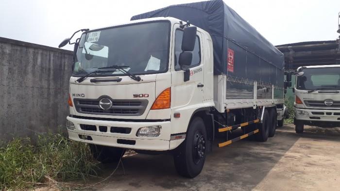 Mua xe tải Hino 16 tấn thùng mui bạt, trả trước 100 triệu giao luôn xe - Gọi 0972494937 (MsXuân 24/24)