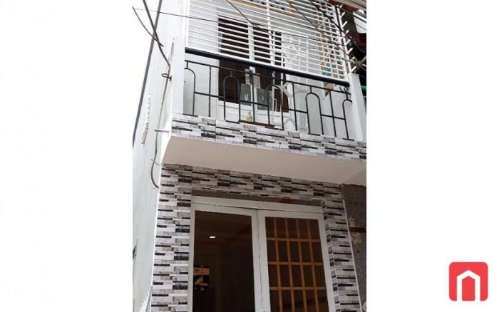 Bán nhà 98m2, SHR, đường Dương Bá Trạch, Q.8