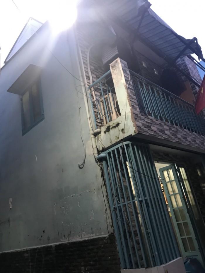 Bán nhà 1 trệt 1 lầu hẻm 4m thông Âu Cơ Tân Phú