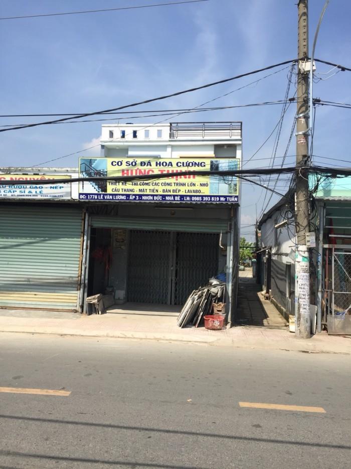 Bán nhà mặt tiền Lê Văn Lương Nhà Bè