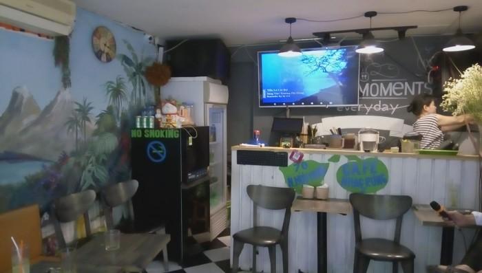 Sang nhượng quán cà phê - karaoke hát cho nhau nghe DT 20m2 mặt tiền 4 m Phố Nguyễn Hữu Huân Q.Hoàn Kiếm Hà Nội