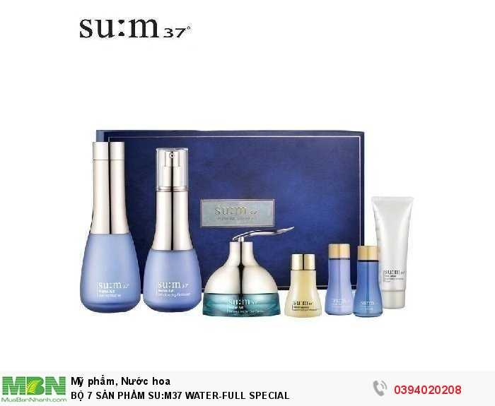 BỘ 7 SẢN PHẨM SU:M37 WATER-FULL SPECIAL