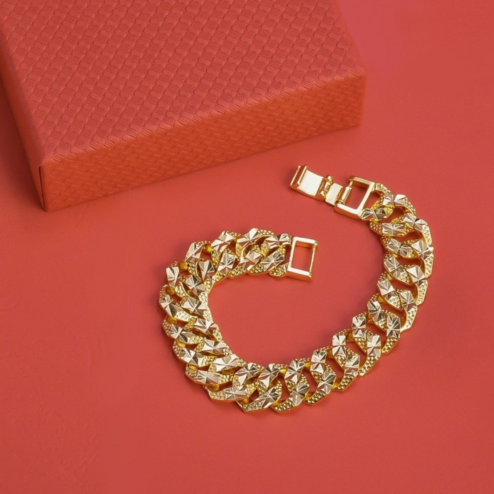 Lắc tay mạ vàng cao cấp0