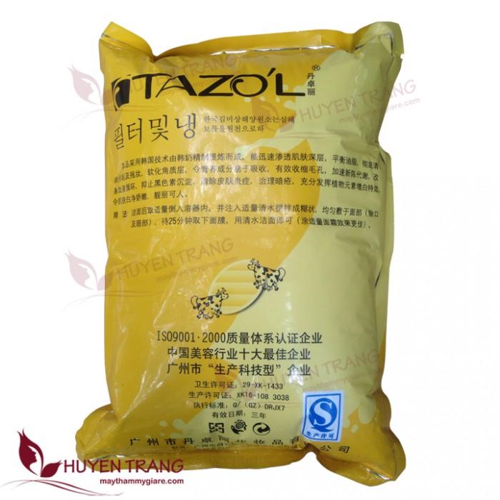 Bột bò vàng Tazoli trắng da1