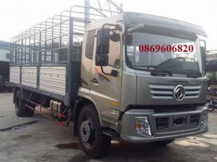 Xe tải Chiến Thắng 9 tấn thùng khung mui Dongfeng 0